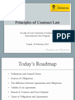 Principles of Contract Law (Eng)