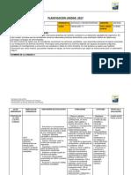 Planificacion Ciencias Unidad 4 2017
