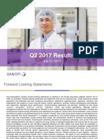 SANOFI_2017-07-31_Results_Q22017_slides