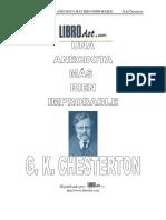 Anécdota mas bien improbable, Una - Chesterton.pdf