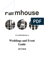 the farmhouse 2017-18 event guide