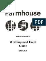 the farmhouse 2017-18 event guide