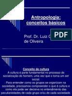 2a Aula Conceitos Básicos Da Antropologia