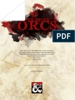 Even More Orcs 5e