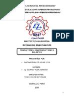 Informe de Conductores y Semiconductores