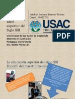 PERFIL DEL DOCENTE DEL NIVEL SUPERIOR PARa EL SIGLO XXI