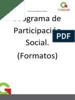 formatos de documentos para carpeta de participaci+¦n social 2014-2015 bueno