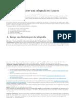 Como Hacer Una Infografía en 5 Pasos