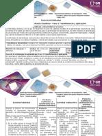 Guía de Actividades y Rubrica de Evaluación-Fase 3 Transferencia y Aplicación