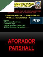 Aforador Parshall-Toma Aforador Parshall-Retenciones-Partidores FINAL