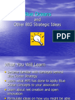Blue Oceans and Other Big Ideas