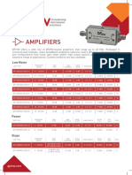 QP MICROWAVE Amplifiers