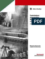 Manual para programación e instalación para PLC Micrologix 1200 y 1500