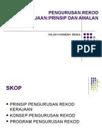 Pengurusan Rekod Kerajaan