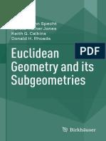Edward John Specht, Harold Trainer Jones, Keith G. Calkins, Donald H. Rhoads Euclidean Geometry and Its Subgeometries