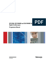 DSA70000 Programmer Manual 0770010
