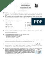 Lista de Exercicios 3 calculo númerico