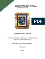 Tecnologia Informatica Para El Comercio y Los Negocios Int. II Tarea Virtual 2017-1 (1)
