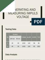 Generating and Measuring Impuls Voltage