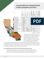 Covered California Consumer Choice 2018
