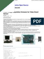 FLEX  Image acquisition firmware for Video Smart Sensor