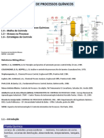 Cap 1 INTRODUÇÃO Controle Processos