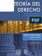Teoría Del Derecho UNAM División de Universidad Abierta