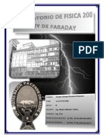 Informe de Ley de Faraday UMSA