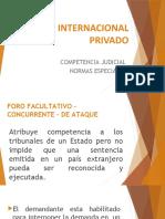 DIP  - COMPETENCIA JUDICIAL - NORMAS ESPECIALES.pptx