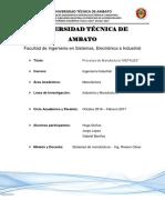 """Procesos de Manufactura""""Metales"""""""