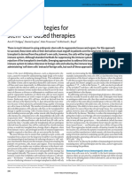 Tolerance Strategies for Stem-cell-based Therapies