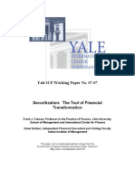 Securitization- The Tool of Financial