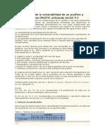 Determinación de La Vulnerabilidad de Un Acuífero a Través Del Método DRASTIC Utilizando ArcGIS 9