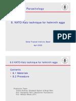 HOW TO DO KATO-KATZ TECHNIQUE