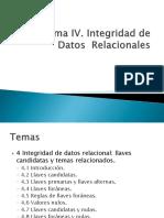 Introduccion a Las Bases de Datos UNIDAD IV