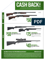 Remington Fall 2017 Long Gun Rebates