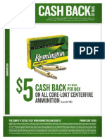 Remington Fall 2017 Ammo Rebates