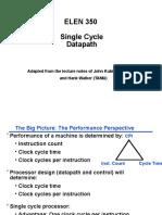 Single Cycle