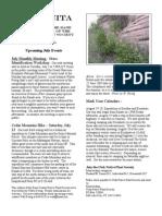 July 2005 Manzanita Native Plant Society Newsletter