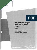 SED Des mots en images pour lire et écrire Cycle 2 2007 [Zecol].pdf