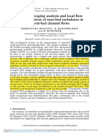 1 Double Averaging Analysis and Local Flow Characterization of Near Bed Turbulence in Gravel Bed Channel Flows Div