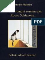 Antonio Manzini - Cinque Indagini Romane Per Rocco Schiavone