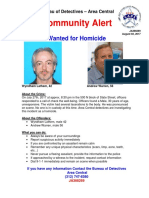 Wanted for Homicide