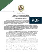 Troy Boyle Death Investigation - Press Release - 8-2-17