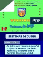 Modulo Sistemas de Juego de Voleibol Octubre 2006
