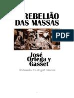 José Ortega y Gasset - A rebelião das massas.pdf