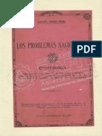 Los Problemas Nacionales Uribe Uribe