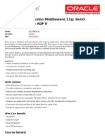 Oracle Fusion Middleware 11g Build Applications With Adf II