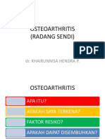 Penyuluhan Osteoarthritis