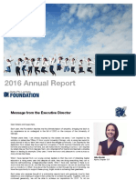 Foundation Annual Report FY2016